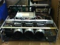 Commercial 3 lens projector Model NTSC-AC Original Cost
