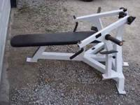 Body Solid Commercial Bench and Plate Loaded Bench