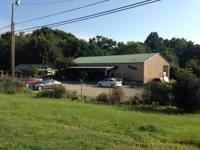 Commercial Building on 2 acres located with frontage on