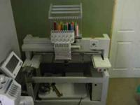 2005 Renaissance Cantare Commercial Embroidery Machine