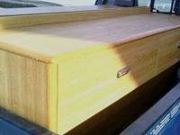 Commercial Grade Hotel Wooden Oak Console