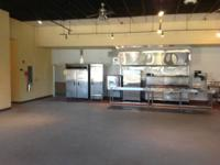 Commercial kitchen now available for rent. Certified by