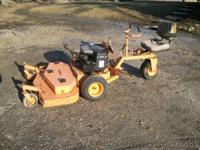 18 H.P Scag Commercial lawn mower with a 48 in. deck.