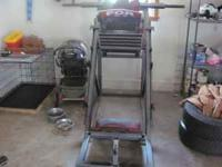 commercial leg press for sale new rollers very heavy