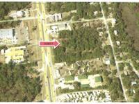 This 2.40 acre parcel is presently Zoned CN. Previously