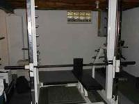 COMMERCIAL MAGNUM SMITH MACHINE---STEEL ROD LINEAR