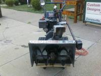 COMMERCIAL SNOW BLOWER 25 HORSE POWER, 8 SPEED, TRACK