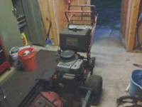 I have for sale a Toro Proline Walk-behind with a 36