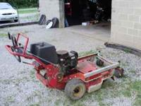 I have for sale a commercial walk behind Toro mower for