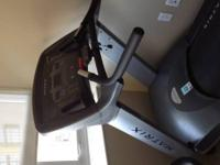 Used commercial treadmill made by Matrix. The MX-T5 is