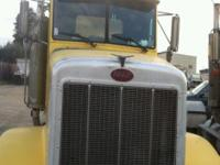 Make: Peterbilt Year: 1989 Peterbilt yellow truck , 2