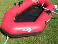 Achilles industrial grade white water raft. Seats 3-4
