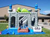 Commercial Bounce Castle. Comes with 2 mounted blowers,