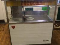 Commercial Popcorn Machine.  Pristine!  Text me for