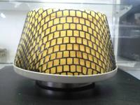 "Universal Focuz Air Filters 4.5"" ID, Yellow:. MADE IN"