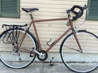 I had this bike built specifically for commuting. It is