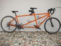 Type:Bicyclean incredible Co-Motion Speedster Tandem