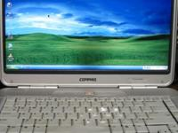 Compac 14 inch laptop with installed software like