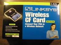 Cisco-Linksys WCF11 Wireless Compact Flash Card Type