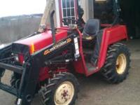 1996 Belarus 22 HP diesel tractor 3 point, pto, live