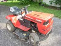 This is a Companion Riding mower, runs great, cuts