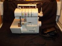 I have this Companion Serge Mate Model 432 Serger Free