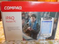 This Compaq iPAQ pocket COMPUTER H3835 is in
