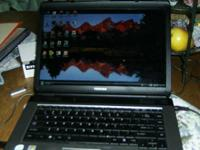 Dual Core Compaq Laptop 1.86 GHz Processor, 80 GB HD, 2