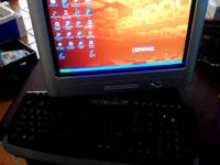 Compaq Presario Desktop Computer and Monitor 512 MB