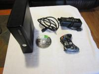 Complete 20 GB Xbox 360 system including all cables for