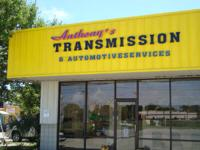 ANTHONY'S TRANSMISSION AND VEHICLE REPAIR WORK.  1108