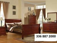$590.00 Louis Philippe Sleigh Room Set DOUBLE OR FULL