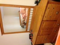 Bedroom set for saleSet includes:queen size bed frame