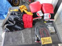 This is everlast spped bag and heavy bag set. this is a
