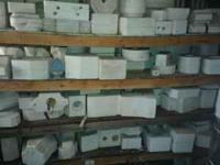 Complete ceramic setup Over 200 molds Kiln Mixer
