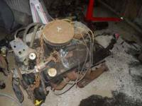complete 74 350 with th350 includes headers, holley