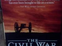 We have a Box Set of The PBS Documentery of the civil