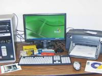 This is a Compaq Presario PC, keyboard with wireless