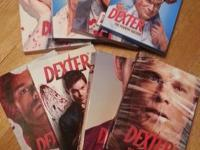 I have complete DEXTER SERIES (8) all for $85.00.. good