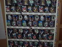 Complete Full Sheet of 90 Whole Peak Football Cards -