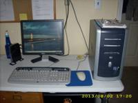 We have a full HP Desk-Top for sale. 80.00. It has an