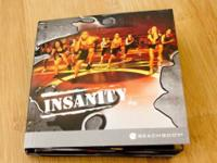 Complete Insanity DVD set ($120.00 value) consisting of
