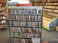 Complete inventory for a video store for sale