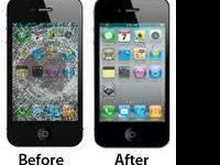 iPhones: 4, 4S, 5, 5C & 5S  we repair the following: