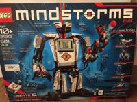 Total Lego Mindstorms EV3 Kit, with 100 % of the pieces