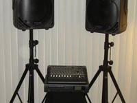 Complete Mackie PA system, everything you have to get