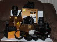Complete Multiple Camera Package, including bodies,