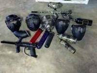 I have a complete paintball set that I am selling.