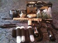 I have a ready to use paintball setup. Comes with