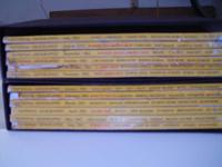 Complete set of 1962 National Geo. in great condition